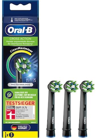 Oral B Aufsteckbürsten »CrossAction schwarz CleanMaxi« kaufen