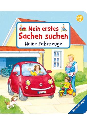 Buch »Mein erstes Sachen suchen: Meine Fahrzeuge / Sandra Grimm, Denitza Gruber« kaufen