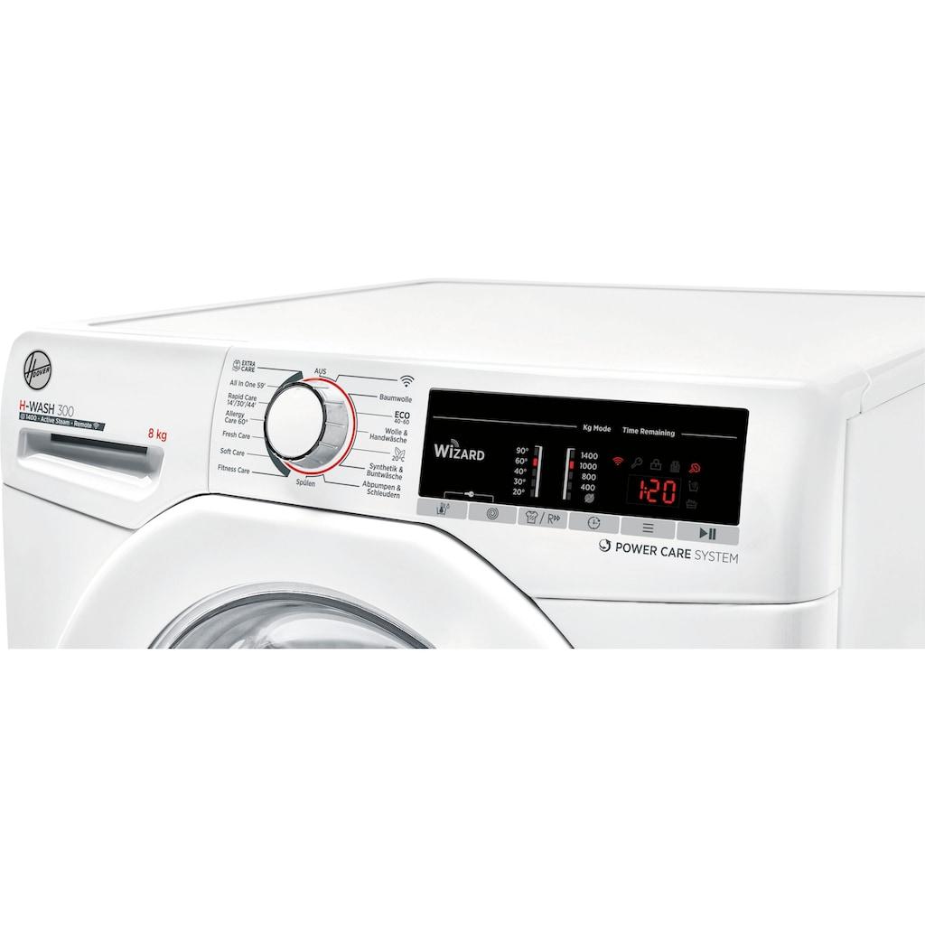 Hoover Waschmaschine »H3WSQ483TAE-84«, H3WSQ 483TAE-84, 8 kg, 1400 U/min