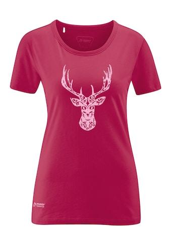 Maier Sports Funktionsshirt »Deer Head W«, Luftiges Rundhals-Shirt kaufen