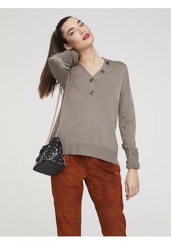 Pullover mit Knopfleiste kaufen