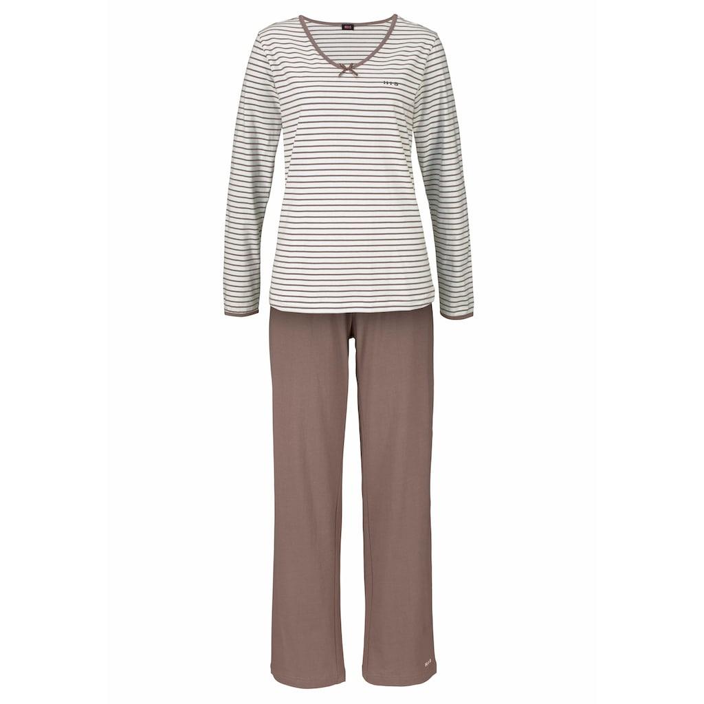 H.I.S Pyjama, mit leicht ausgestelltem Hosenbein