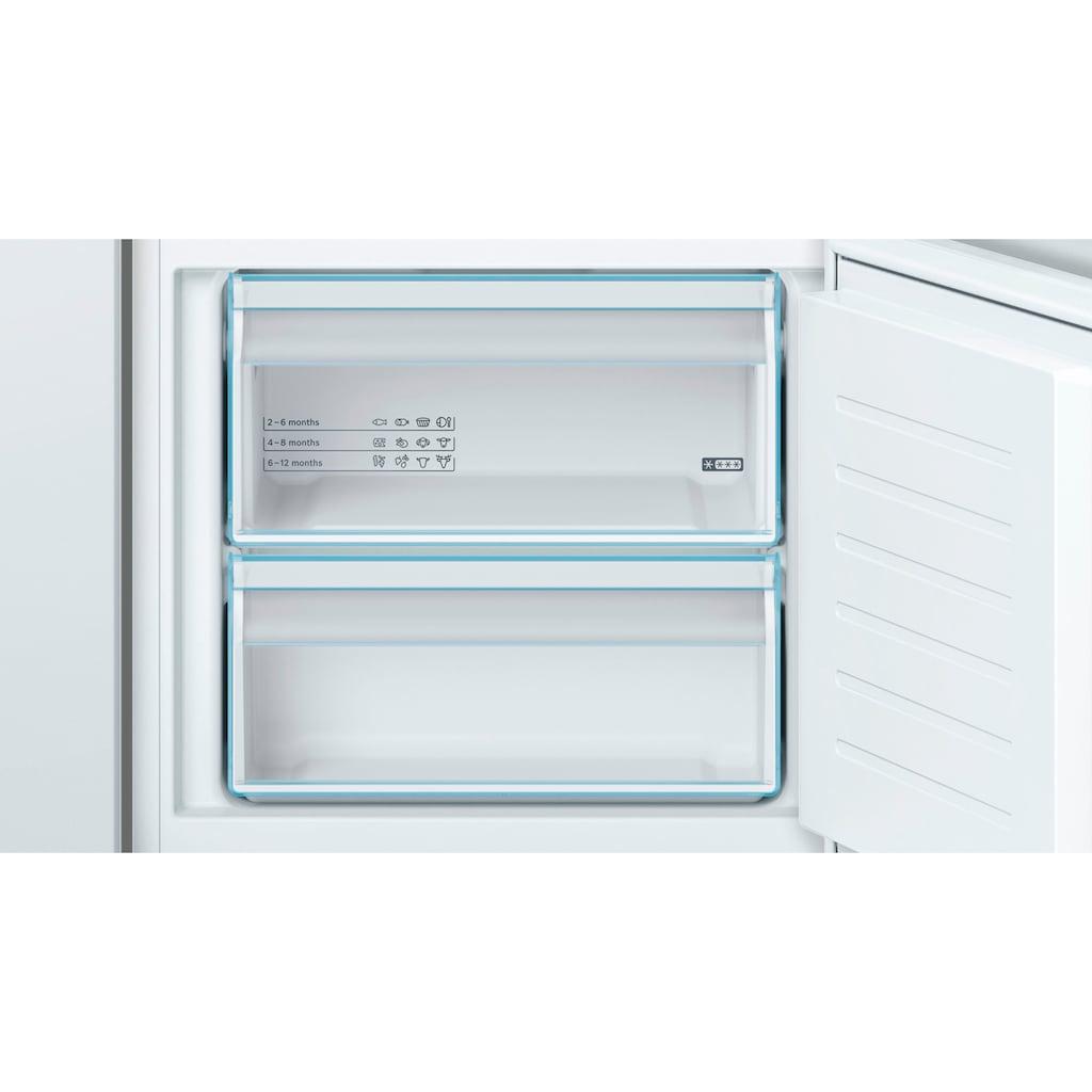 BOSCH Einbaukühlgefrierkombination »KIV67VSF0«, 4