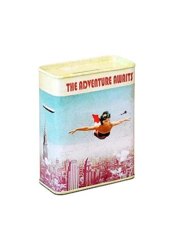 LOGOSHIRT Spardose im Vintage Superhelden-Design kaufen