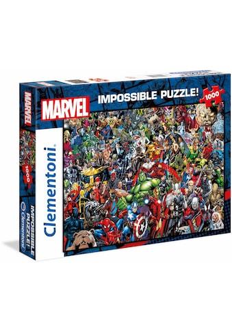 "Clementoni® Puzzle ""Marvel, Impossible Puzzle"" kaufen"
