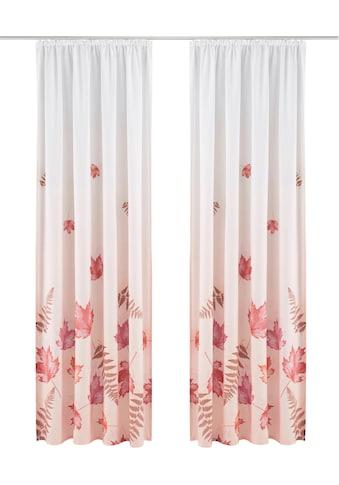 Vorhang, »Farn«, my home, Kräuselband 1 Stück kaufen