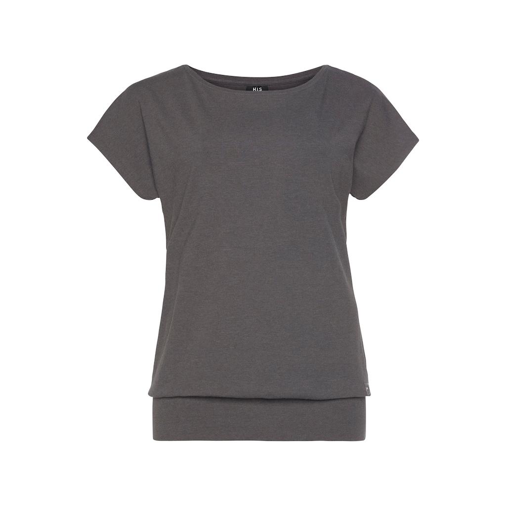H.I.S T-Shirt »Nachhaltige Viskose«, in großen Größen