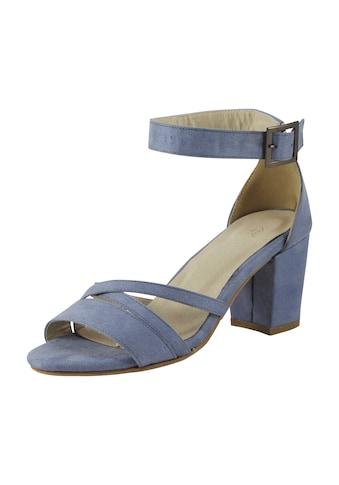 Sandalette mit gekreuzten Riemchen kaufen