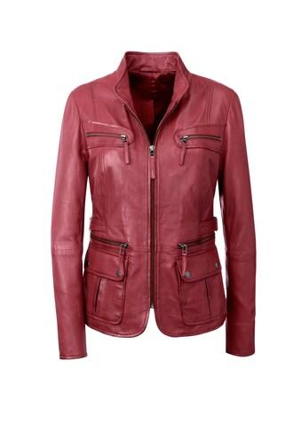 Inspirationen Leder - Jacke mit tollen Details kaufen