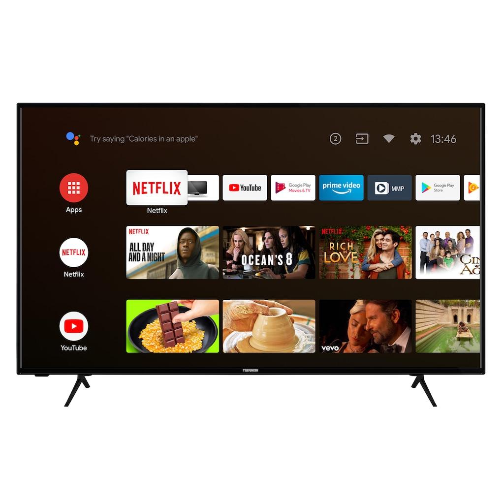 "Telefunken LED-Fernseher »XU50AJ600«, 126 cm/50 "", 4K Ultra HD, Android TV"