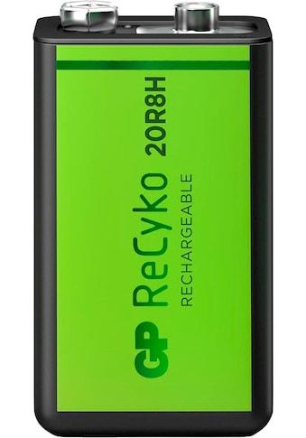 GP Batteries Akku »9V Akku GP NiMH 200 mAh ReCyko 8,4V 1 Stück«, 200 mAh kaufen