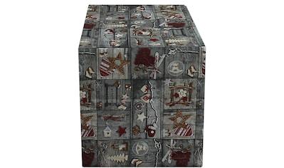 HOSSNER - HOMECOLLECTION Tischläufer »Montblanc«, (1 St.), mit Weihnachtsmotiv kaufen