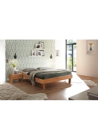HASENA Massivholzbett »Rapallo«, Fußhöhe 25 cm kaufen