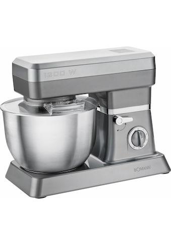 BOMANN Küchenmaschine »Küchenmaschine KM 398 CB«, 1200 W, 6,3 l Schüssel kaufen