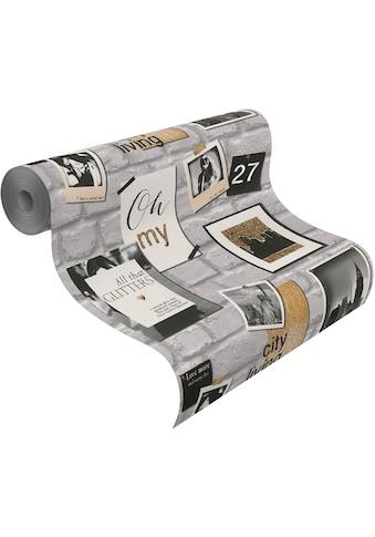 Rasch Papiertapete »Kids & Teens III«, gemustert-Steinoptik kaufen