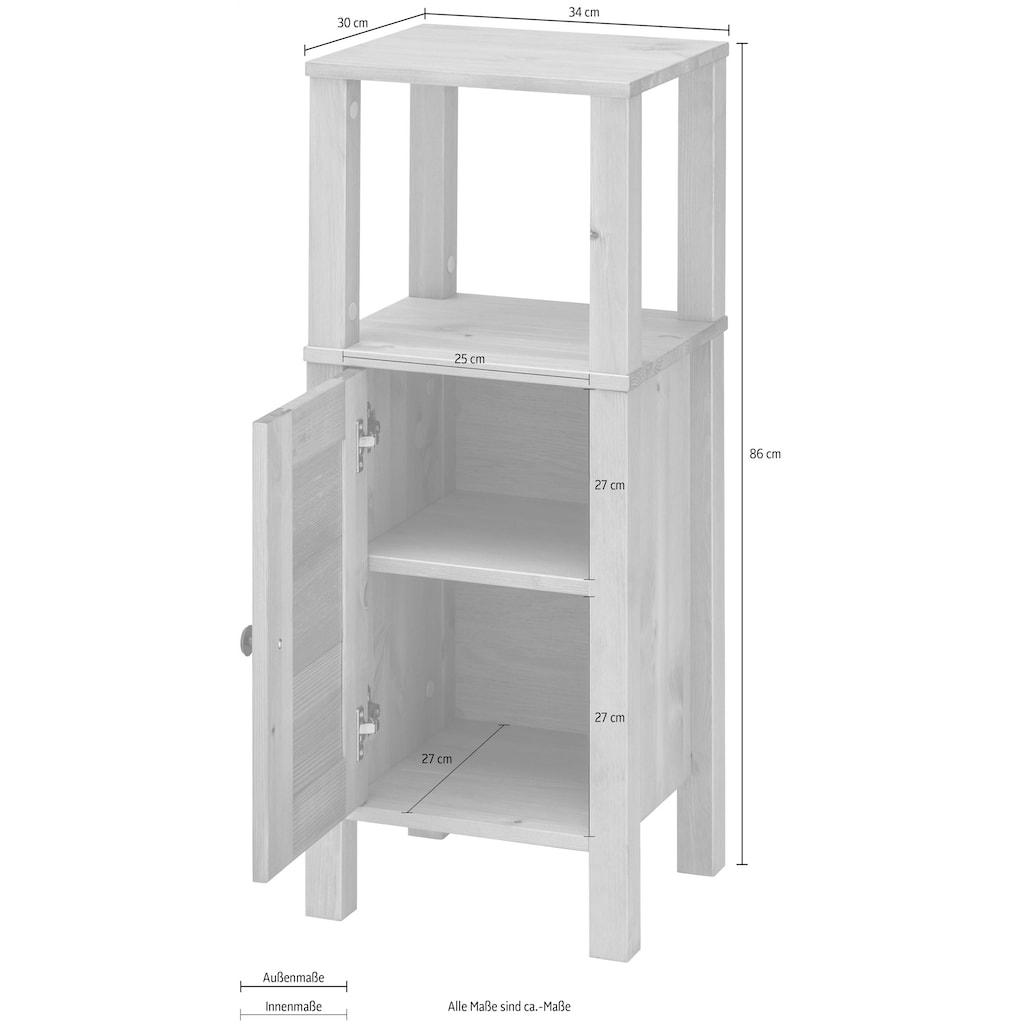 Home affaire Unterschrank »Ayanna«, aus Massivholz, Breite 34 cm