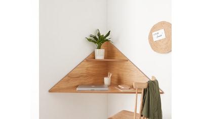 OTTO products Eckschreibtisch »LOT«, Designed by Michael Hilgers, praktischer Laptoptisch, Home office kaufen