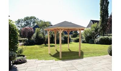 Wolff Holzpavillon »Kreta 6«, BxT: 366x327 cm kaufen
