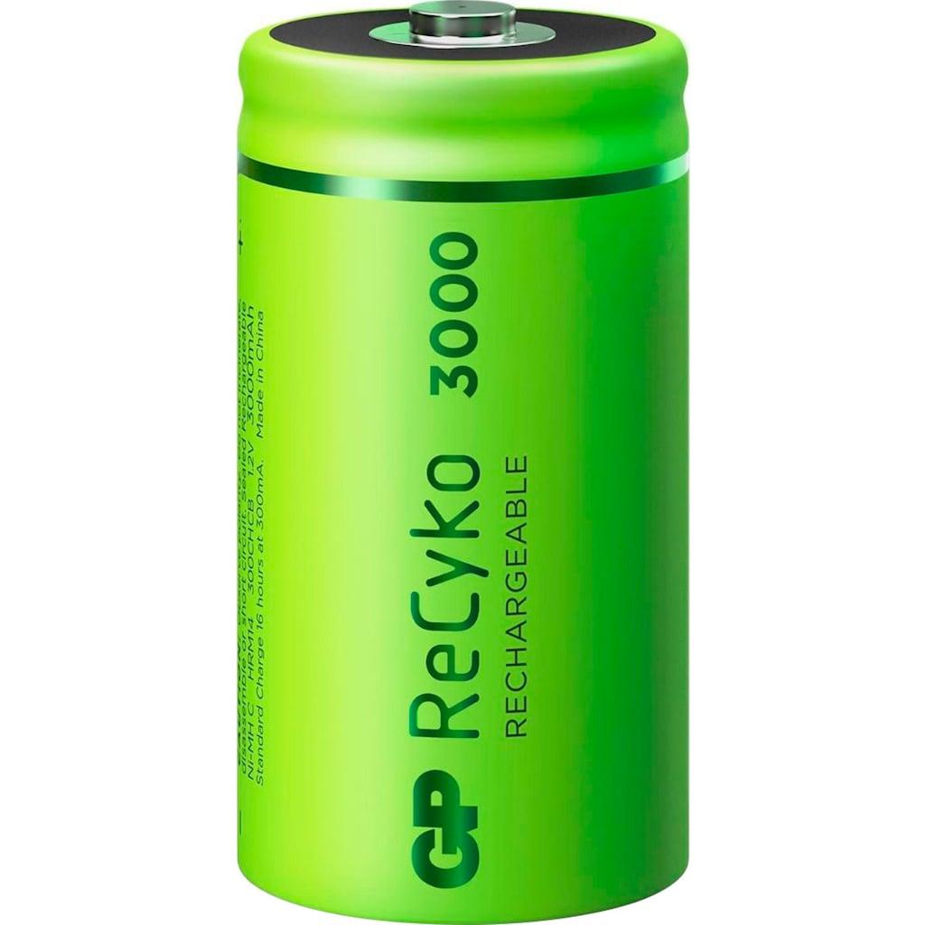 GP Batteries Akku »C Baby Akku GP NiMH 3000 mAh ReCyko 1,2V 2 Stück«, C