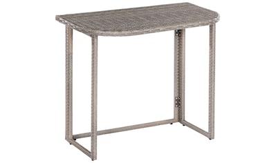 MERXX Gartentisch »Klapptisch für Eckbank«, 50x90 cm kaufen