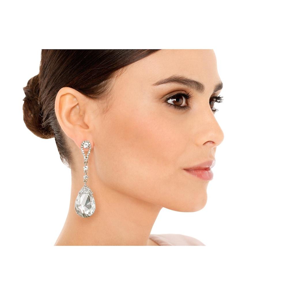 Ohrhänger mit Glassteinen