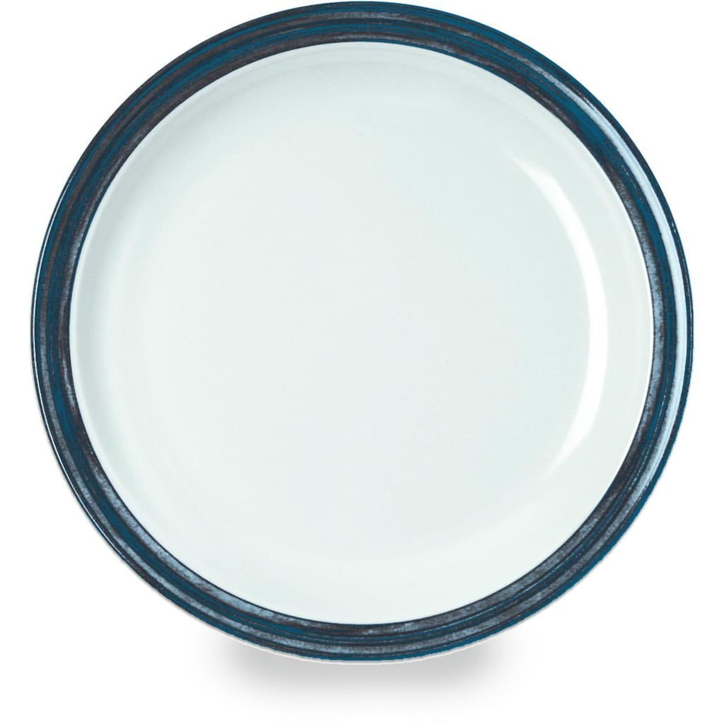 WACA Teller »Bistro«, (Set, 4 St.), Melamin, 23,5 cm