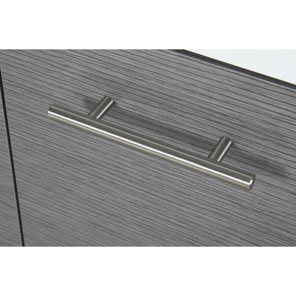 Schildmeyer Badmöbel-Set »Palermo«, (Set, 4 St.), mit Metallgriffen, verstellbaren Einlegeböden, z.T. wechselbarer Türanschlag