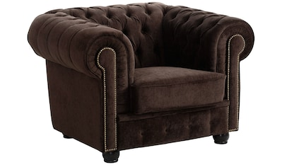 Max Winzer® Chesterfield-Sessel »Rover«, mit edler Knopfheftung kaufen