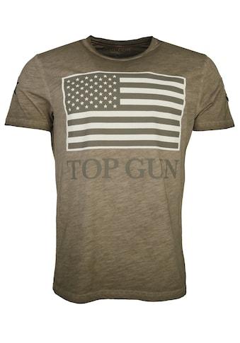 TOP GUN T-Shirt »Search«, sportlicher Schnitt kaufen