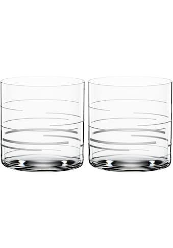 SPIEGELAU Tumbler-Glas »Lines«, (Set, 2 tlg.), Dekor graviert, 340 ml, 2-teilig kaufen