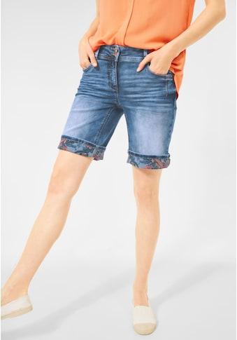 Cecil Jeansshorts, 5-Pockets Style kaufen