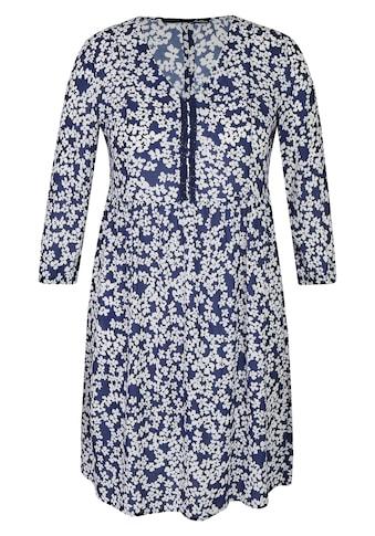 LeComte Blusenkleid, mit Blumenmuster und A-Linie kaufen