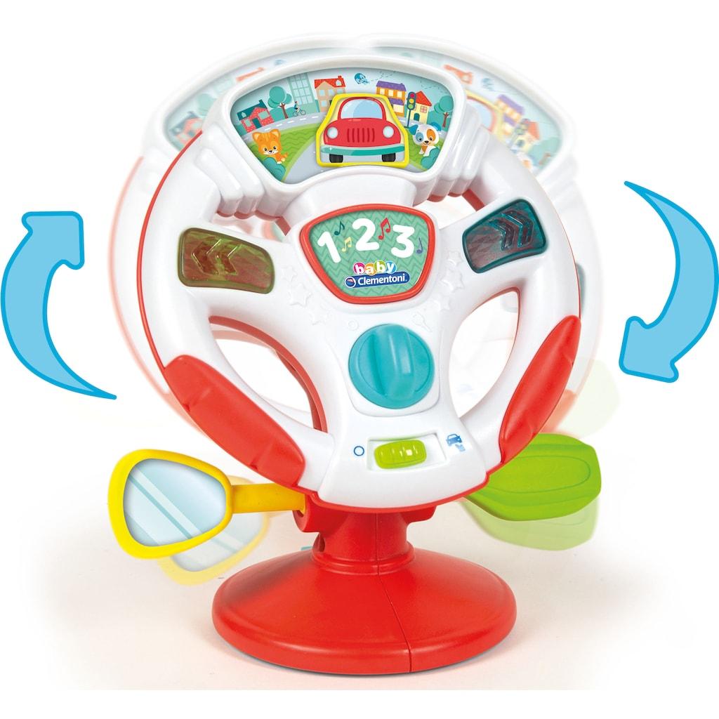 Clementoni® Lernspielzeug »Baby Clementoni - Aktivitäts-Lenkrad«