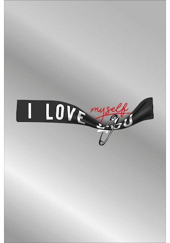 Dekospiegel »I love myself« kaufen
