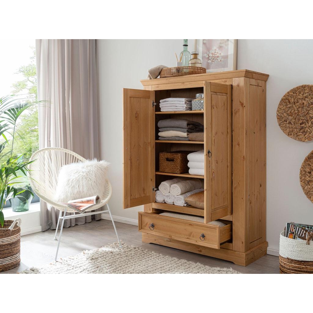 Premium collection by Home affaire Wäscheschrank »Magyc«, aus Massivholz