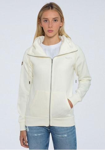 Pepe Jeans Sweater »ANETTE«, mit Kängurutasche und kleinem Marken-Logo-Druck kaufen