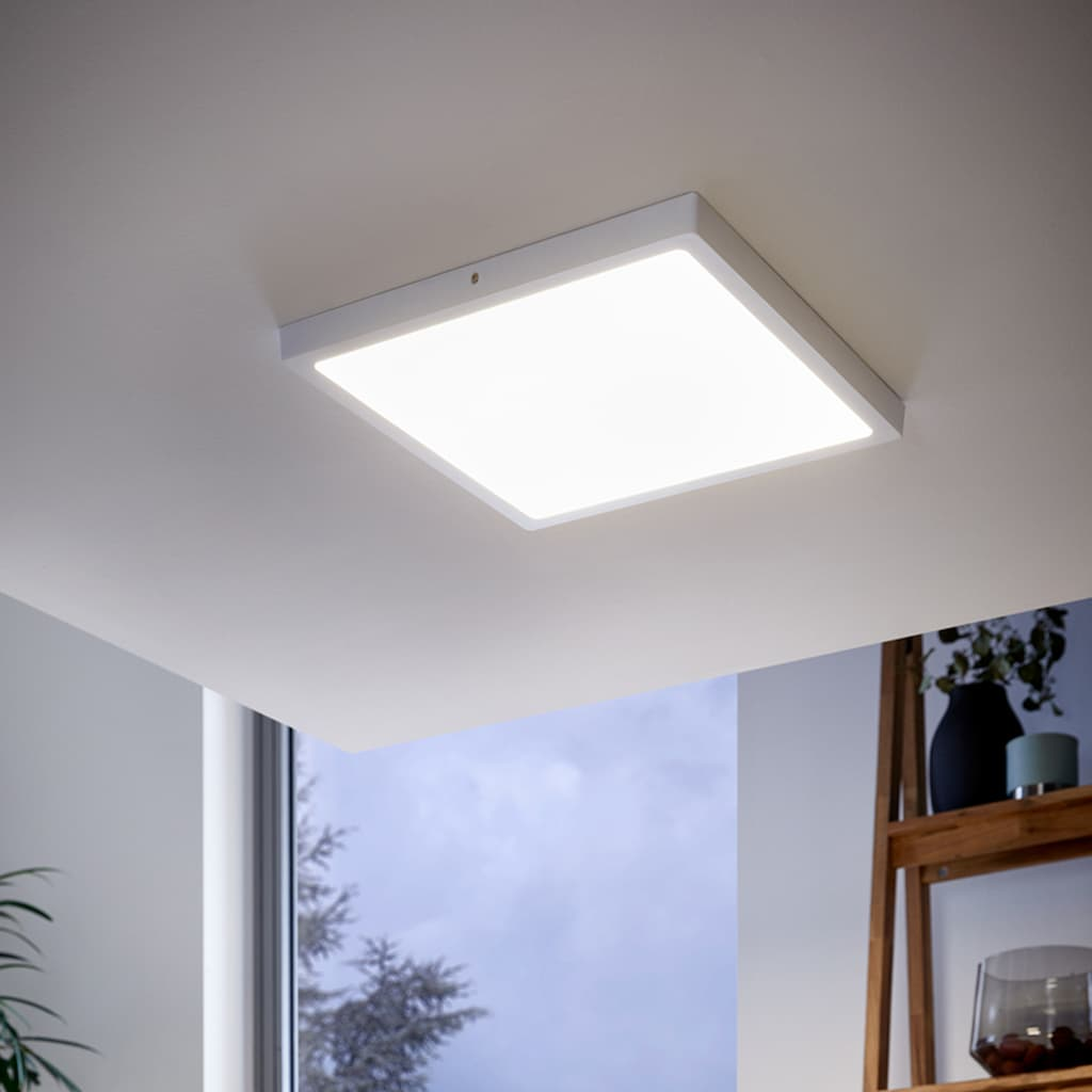 EGLO Aufbauleuchte »FUEVA 1«, LED-Board, 1 St., Warmweiß, schlankes Design, nur 3 cm hoch