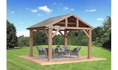 WESTMANN Holzpavillon »Yukon 14x12«, BxT: 427x366 cm kaufen