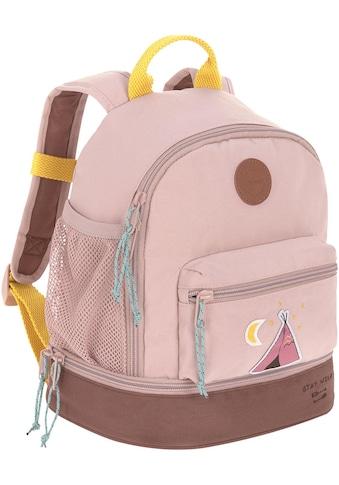 LÄSSIG Kinderrucksack »Adventure, Tipi, Mini Backpack«, Floureszierende Flächen,... kaufen
