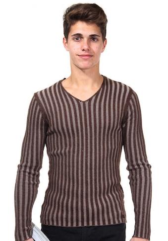 R-NEAL Pullover V-Ausschnitt slim fit kaufen