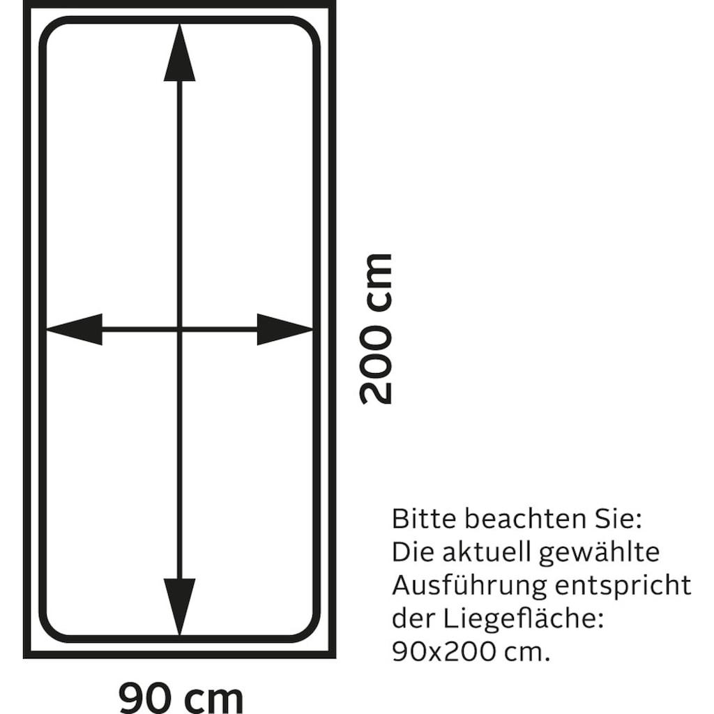 Breckle Stauraumbett, in verschiedenen Ausführungen