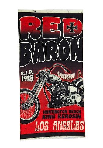 KingKerosin Multifunktionstuch »Red Baron«, aus reinem Coolmax kaufen