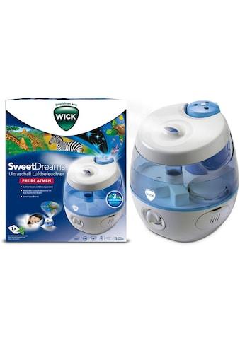 WICK Luftbefeuchter »WUL575 SweetDreams«, 3,8 l Wassertank, mit Lichtprojektion kaufen