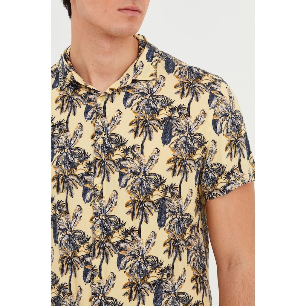 Blend Kurzarmhemd »Blend Herren Kurzarmhemd mit Allover Print«, Herren Kurzarmhemd mit Print