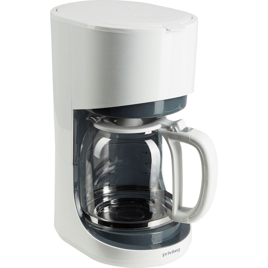 Privileg Filterkaffeemaschine »Max. 900 Watt«, Papierfilter, 1x4