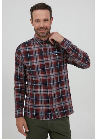 FQ1924 Langarmhemd »Thorvald 21900073ME«, Modernes Hemd mit Muster kaufen