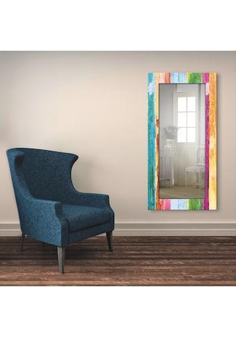Artland Wandspiegel »Nimm dir Zeit«, gerahmter Ganzkörperspiegel mit Motivrahmen,... kaufen