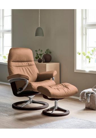 Stressless® Relaxsessel »Sunrise«, mit Signature Base, Größe S, Gestell Braun kaufen