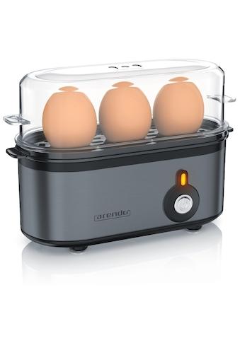 Arendo Edelstahl Eierkocher für 1 bis 3 Eier kaufen