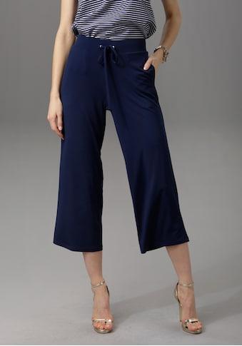 Aniston CASUAL Culotte, in unifarben oder trendig gemustert kaufen